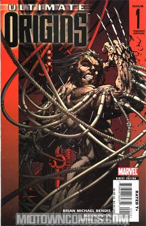 Ultimate Origins #1 Cover C Incentive Michael Turner Variant Cover