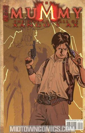 Mummy Movie Prequel Rise & Fall Of Xangos Ax #2 Regular Stephen Mooney Cover