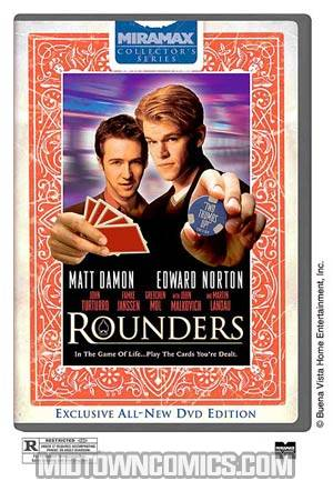 Rounders Collectors Edition DVD