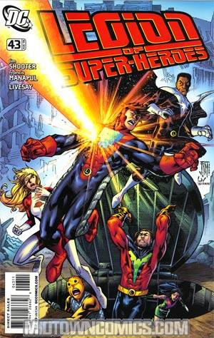 Legion Of Super-Heroes Vol 5 #43