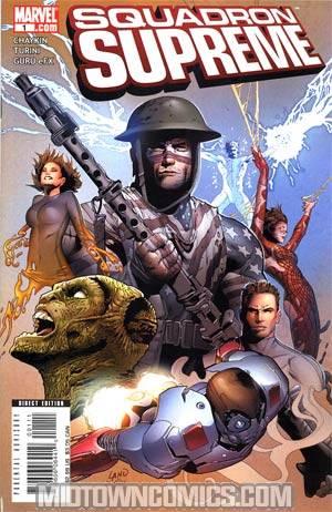 Squadron Supreme Vol 3 #1 Cover A 1st Ptg