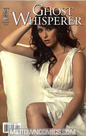 Ghost Whisperer The Haunted #4 Incentive Jennifer Love Hewitt Photo Cover