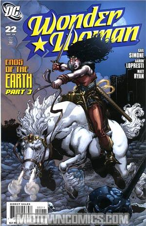 Wonder Woman Vol 3 #22