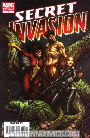 Secret Invasion #4 Cover B Incentive Steve McNiven Variant Cover