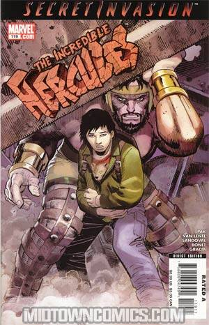 Incredible Hercules #119 (Secret Invasion Tie-In)