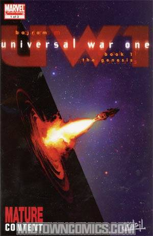 Universal War One #1 Regular Denis Bajram Cover