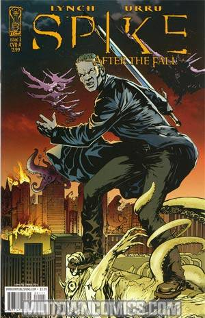 Spike After The Fall #1 Regular Cover A Vampire Spike
