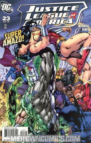 Justice League Of America Vol 2 #23