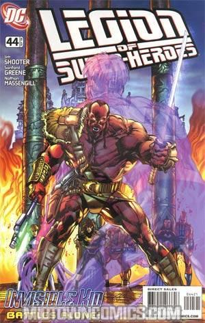 Legion Of Super-Heroes Vol 5 #44 Incentive Neal Adams Variant Cover
