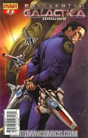 Battlestar Galactica Origins #8 Cover A Jonathan Lau Cover