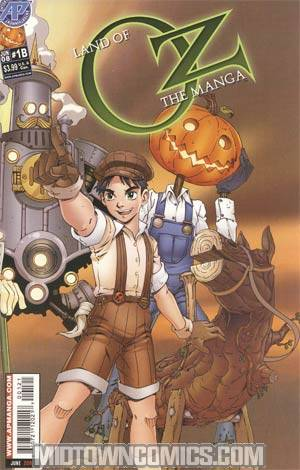 Land Of Oz Manga #1 Wrap Cvr