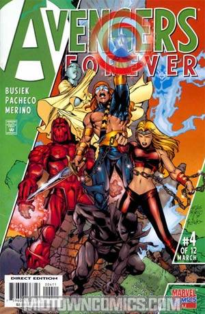 Avengers Forever #4 Cover A