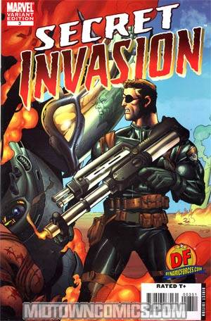 Secret Invasion #3 Cover E DF Exclusive Variant Mel Rubi Cover