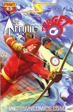 Project Superpowers #5 Cover A Regular Arrow And Target