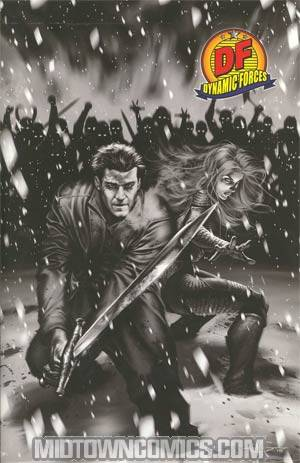 Angel After The Fall #10 Cover E DF Exclusive Alex Garner Sketch Cover