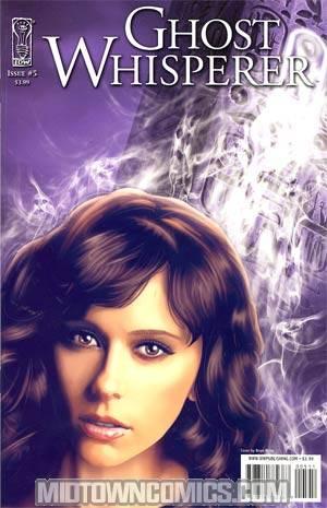 Ghost Whisperer The Haunted #5 Regular Brian Miller Cover
