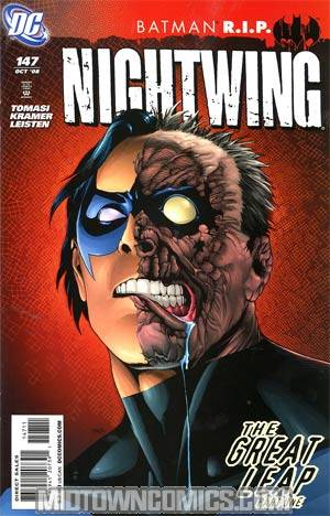 Nightwing Vol 2 #147 (Batman R.I.P. Tie-In)
