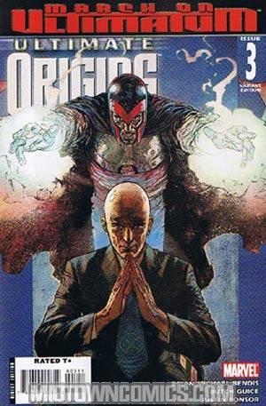 Ultimate Origins #3 1st Ptg Alex Maleev Cover