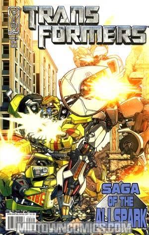 Transformers Movie Prequel Saga Of The Allspark #2 Cover A