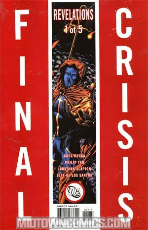 Final Crisis Revelations #1 Cover B Story Sliver Cover