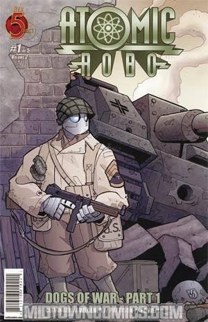 Atomic Robo Dogs Of War #1