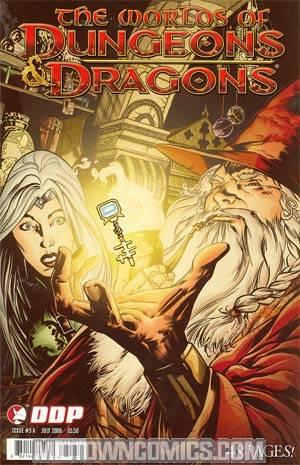 Worlds Of Dungeons & Dragons #3 Cvr A Balan