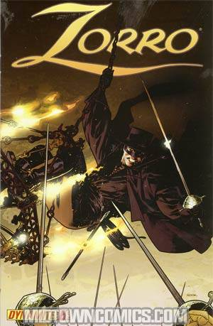 Zorro Vol 6 #6 Ryan Sook Cover
