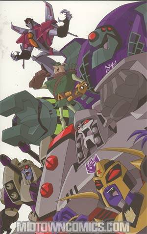 Transformers Animated Arrival #1 Incentive Marcelo Matere Variant Cover