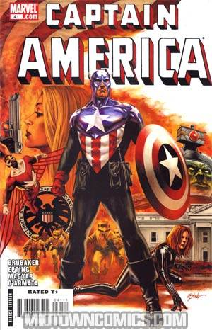 Captain America Vol 5 #41 Cover A Regular Steve Epting Cover