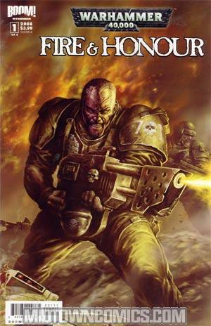 Warhammer 40K Fire & Honor #1 Cover A