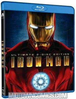 Iron Man Blu-ray DVD