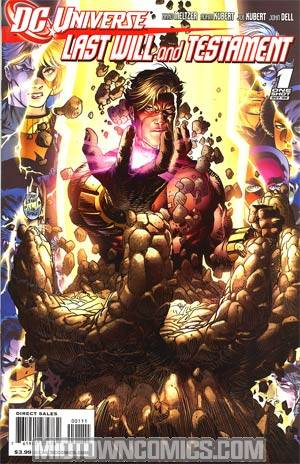 DC Universe Last Will And Testament #1 Cover B Geoforce