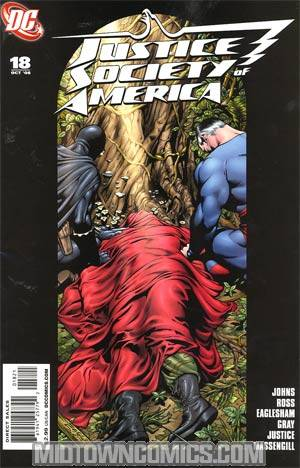Justice Society Of America Vol 3 #18 Cover B Incentive Dale Eaglesham Variant Cover