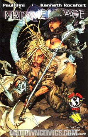 Madame Mirage #3 Cover C WWTX Kenneth Rocafort Variant Cover