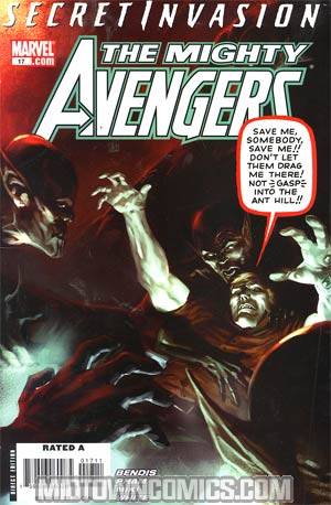 Mighty Avengers #17 (Secret Invasion Tie-In)