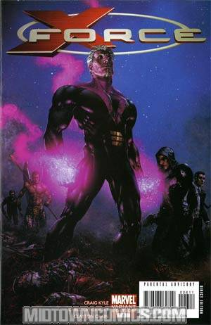 X-Force Vol 3 #6 Regular Clayton Crain Cover