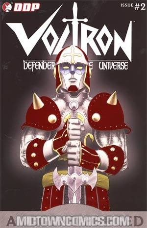 Voltron A Legend Forged #2 Cover E Previews Exclusive Foil Cover