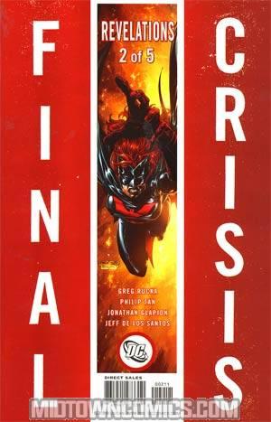 Final Crisis Revelations #2 Cover B Story Sliver Cover