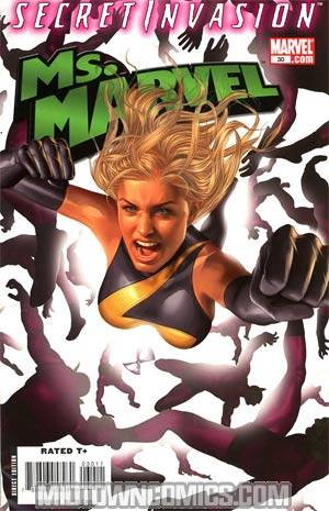 Ms Marvel Vol 2 #30 (Secret Invasion Tie-In)