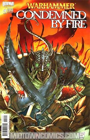 Warhammer Condemned By Fire #4 Cover B