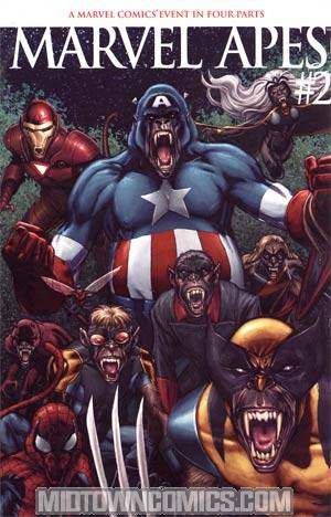 Marvel Apes #2 Cover B Incentive Phil Jimenez Variant Cover