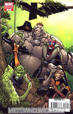 Young X-Men #6 Incentive Monkey Variant Cover (X-Men Manifest Destiny Tie-In)