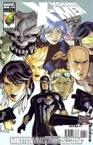 Young X-Men #6 Regular Terry Dodson Cover (X-Men Manifest Destiny Tie-In)