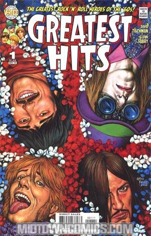 Greatest Hits #1 Regular Glenn Fabry Cover