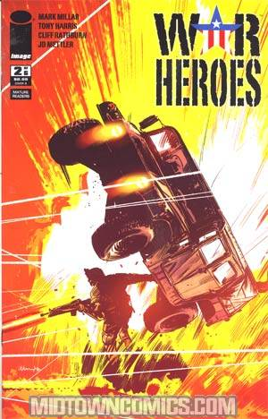 War Heroes (Image) #2 Incentive Tommy Lee Edwards Variant Cover
