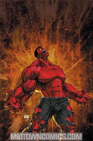 Hulk Vol 2 #6 Incentive Michael Turner Variant Cover