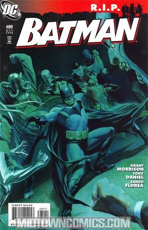 Tony Daniel Variant Cover Batman #678