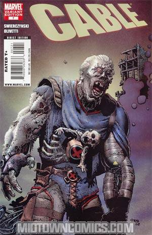 Cable Vol 2 #7 Cover B Incentive Richard Corben Zombie Variant Cover