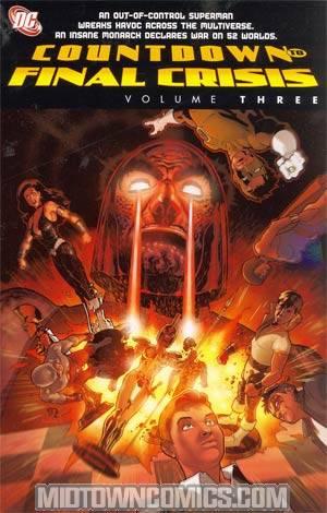 Countdown To Final Crisis Vol 3 TP