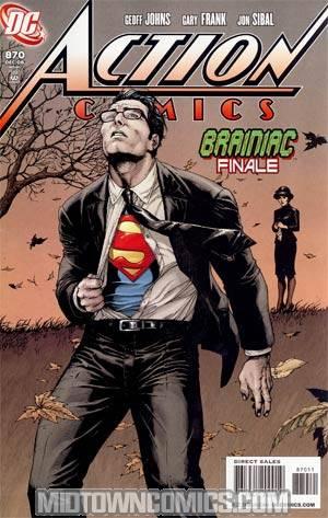 Action Comics #870 Cover A Regular Gary Frank Cover